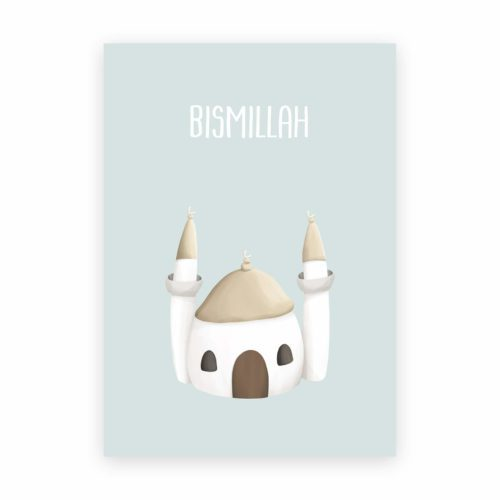 Moschee Poster