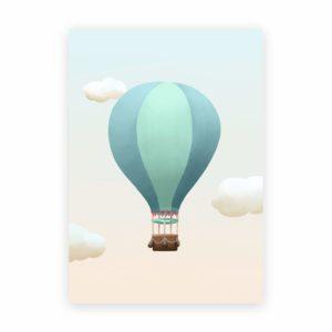 Heißluftballon Poster
