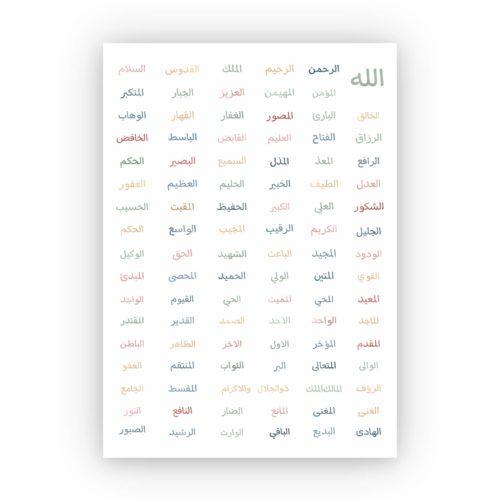 Islamisches Poster
