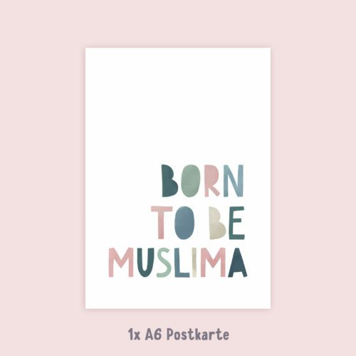 Islamische Postkarten